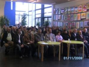 Kemal Burkay holdt et seminar i København